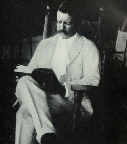 Teddy Roosevelt Reading